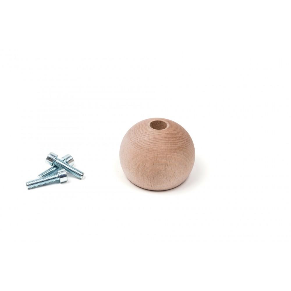 Wooden 3/4 Sphere (9)