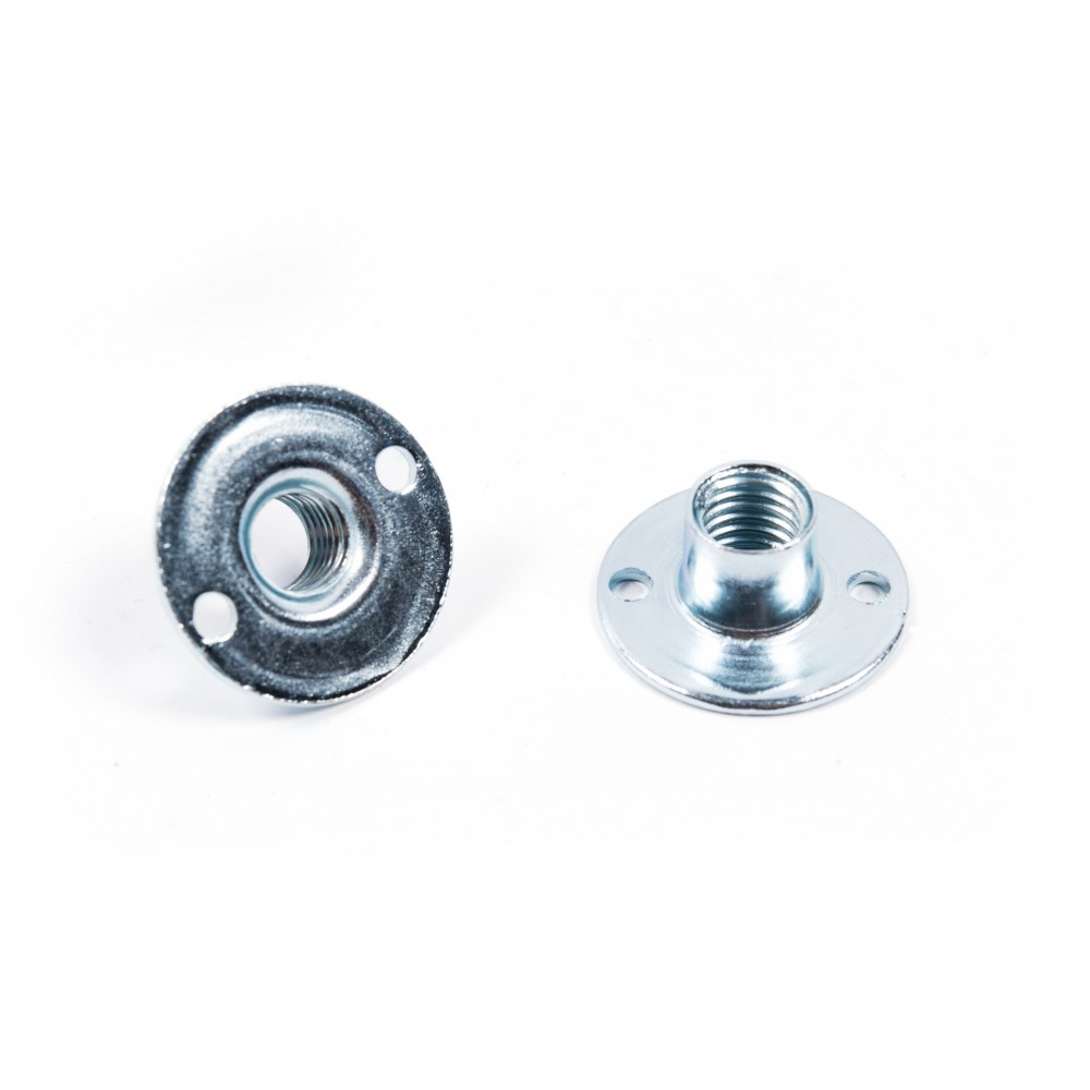 M10 T-Nut zinc-plated screw-on inserts