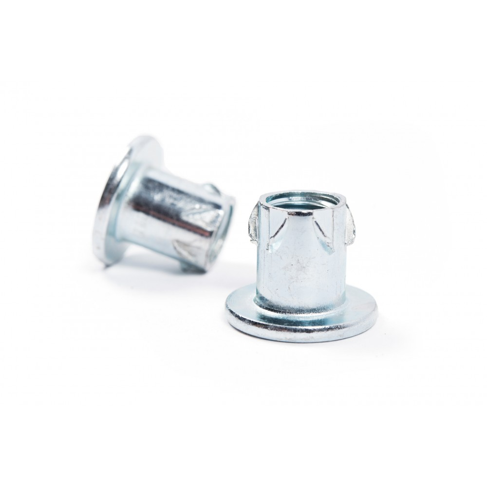 M10 T-Nut zinc-plated self-tapping inserts
